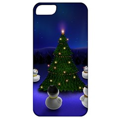 Waiting For The Xmas Christmas Apple iPhone 5 Classic Hardshell Case