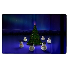 Waiting For The Xmas Christmas Apple iPad 3/4 Flip Case