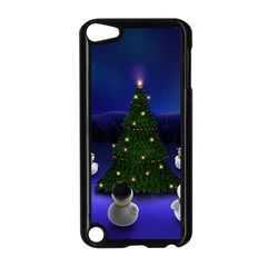 Waiting For The Xmas Christmas Apple iPod Touch 5 Case (Black)