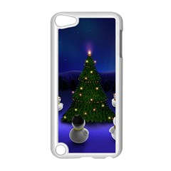 Waiting For The Xmas Christmas Apple iPod Touch 5 Case (White)