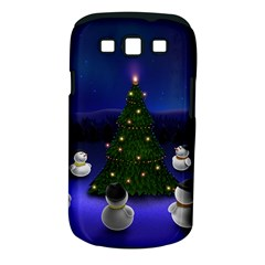 Waiting For The Xmas Christmas Samsung Galaxy S III Classic Hardshell Case (PC+Silicone)