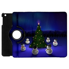 Waiting For The Xmas Christmas Apple iPad Mini Flip 360 Case