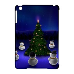 Waiting For The Xmas Christmas Apple iPad Mini Hardshell Case (Compatible with Smart Cover)