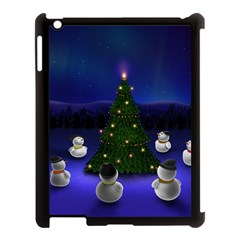 Waiting For The Xmas Christmas Apple iPad 3/4 Case (Black)