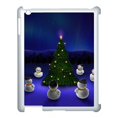 Waiting For The Xmas Christmas Apple iPad 3/4 Case (White)