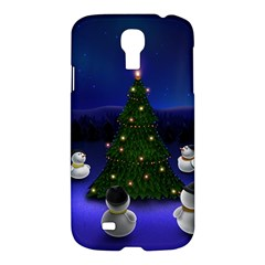 Waiting For The Xmas Christmas Samsung Galaxy S4 I9500/I9505 Hardshell Case