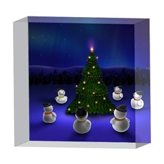Waiting For The Xmas Christmas 5  x 5  Acrylic Photo Blocks