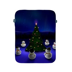Waiting For The Xmas Christmas Apple iPad 2/3/4 Protective Soft Cases