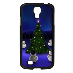 Waiting For The Xmas Christmas Samsung Galaxy S4 I9500/ I9505 Case (Black)