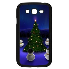 Waiting For The Xmas Christmas Samsung Galaxy Grand DUOS I9082 Case (Black)