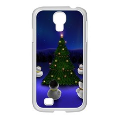 Waiting For The Xmas Christmas Samsung GALAXY S4 I9500/ I9505 Case (White)