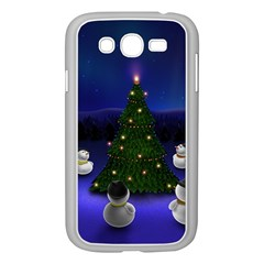 Waiting For The Xmas Christmas Samsung Galaxy Grand DUOS I9082 Case (White)