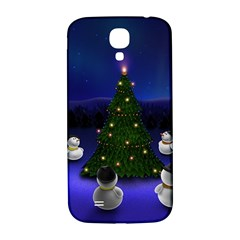 Waiting For The Xmas Christmas Samsung Galaxy S4 I9500/I9505  Hardshell Back Case
