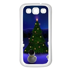 Waiting For The Xmas Christmas Samsung Galaxy S3 Back Case (White)