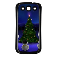 Waiting For The Xmas Christmas Samsung Galaxy S3 Back Case (Black)