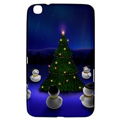 Waiting For The Xmas Christmas Samsung Galaxy Tab 3 (8 ) T3100 Hardshell Case
