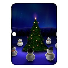 Waiting For The Xmas Christmas Samsung Galaxy Tab 3 (10.1 ) P5200 Hardshell Case