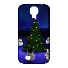Waiting For The Xmas Christmas Samsung Galaxy S4 Classic Hardshell Case (PC+Silicone)