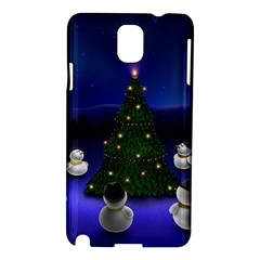 Waiting For The Xmas Christmas Samsung Galaxy Note 3 N9005 Hardshell Case