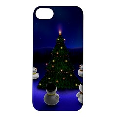 Waiting For The Xmas Christmas Apple iPhone 5S/ SE Hardshell Case