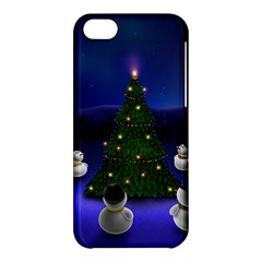Waiting For The Xmas Christmas Apple iPhone 5C Hardshell Case
