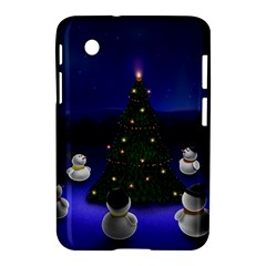 Waiting For The Xmas Christmas Samsung Galaxy Tab 2 (7 ) P3100 Hardshell Case