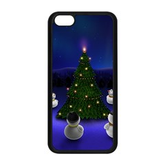 Waiting For The Xmas Christmas Apple iPhone 5C Seamless Case (Black)
