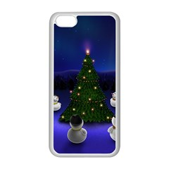 Waiting For The Xmas Christmas Apple iPhone 5C Seamless Case (White)