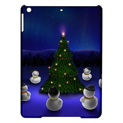 Waiting For The Xmas Christmas iPad Air Hardshell Cases