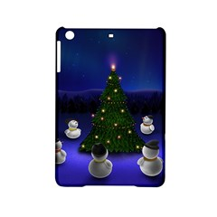 Waiting For The Xmas Christmas iPad Mini 2 Hardshell Cases