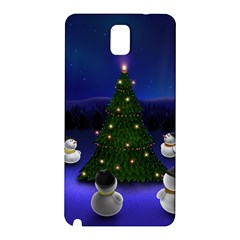 Waiting For The Xmas Christmas Samsung Galaxy Note 3 N9005 Hardshell Back Case