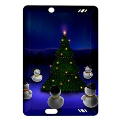 Waiting For The Xmas Christmas Amazon Kindle Fire HD (2013) Hardshell Case