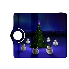 Waiting For The Xmas Christmas Kindle Fire HDX 8.9  Flip 360 Case