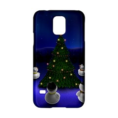 Waiting For The Xmas Christmas Samsung Galaxy S5 Hardshell Case