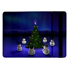 Waiting For The Xmas Christmas Samsung Galaxy Tab Pro 12.2  Flip Case