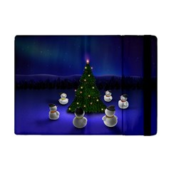Waiting For The Xmas Christmas iPad Mini 2 Flip Cases