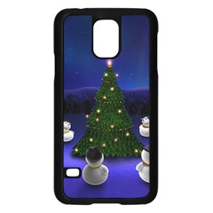 Waiting For The Xmas Christmas Samsung Galaxy S5 Case (Black)