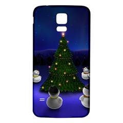 Waiting For The Xmas Christmas Samsung Galaxy S5 Back Case (White)