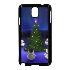 Waiting For The Xmas Christmas Samsung Galaxy Note 3 Neo Hardshell Case (Black)