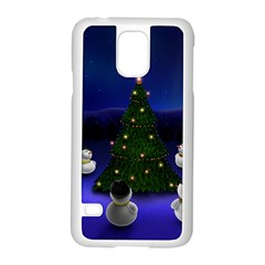Waiting For The Xmas Christmas Samsung Galaxy S5 Case (White)