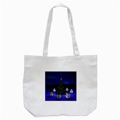 Waiting For The Xmas Christmas Tote Bag (White)