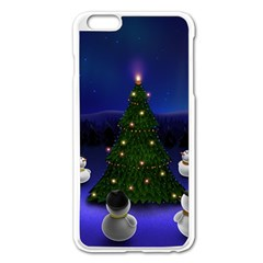 Waiting For The Xmas Christmas Apple iPhone 6 Plus/6S Plus Enamel White Case