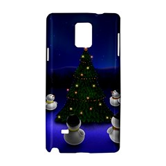 Waiting For The Xmas Christmas Samsung Galaxy Note 4 Hardshell Case