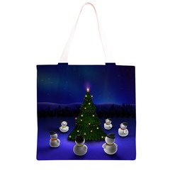 Waiting For The Xmas Christmas Grocery Light Tote Bag