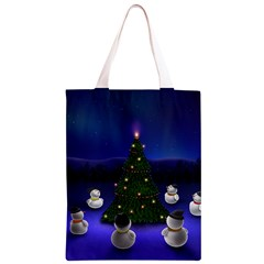 Waiting For The Xmas Christmas Classic Light Tote Bag