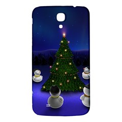 Waiting For The Xmas Christmas Samsung Galaxy Mega I9200 Hardshell Back Case