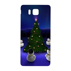 Waiting For The Xmas Christmas Samsung Galaxy Alpha Hardshell Back Case
