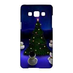 Waiting For The Xmas Christmas Samsung Galaxy A5 Hardshell Case