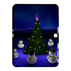 Waiting For The Xmas Christmas Samsung Galaxy Tab 4 (10.1 ) Hardshell Case