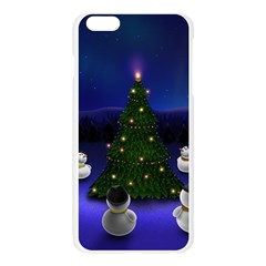 Waiting For The Xmas Christmas Apple Seamless iPhone 6 Plus/6S Plus Case (Transparent)